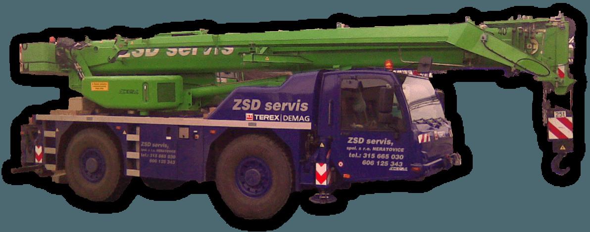 Jeřáb 35L, ZSD servis, spol. s r.o., Neratovice