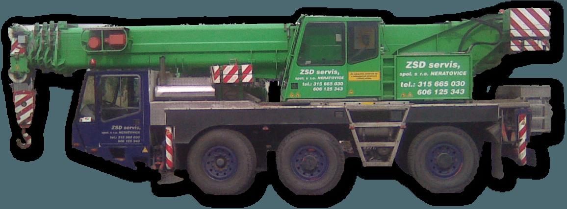 Autojeřáb AC-50-b2, ZSD servis, spol. s r.o., Neratovice