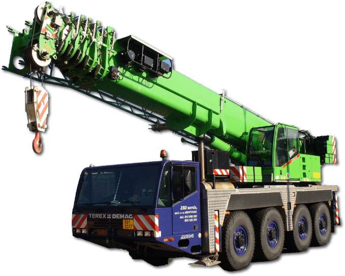 Autojeřáb AC80-2, ZSD servis, spol. s r.o., Neratovice